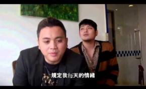 雞排英雄導演葉天倫旗下愛將的【大冠、阿毛】為DS APP一搭一唱囉!
